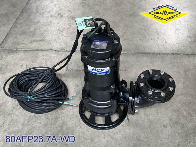 Těžké kalové čerpadlo na surové kaly HCP 80AFP23.7A WD 3,7kW 400V