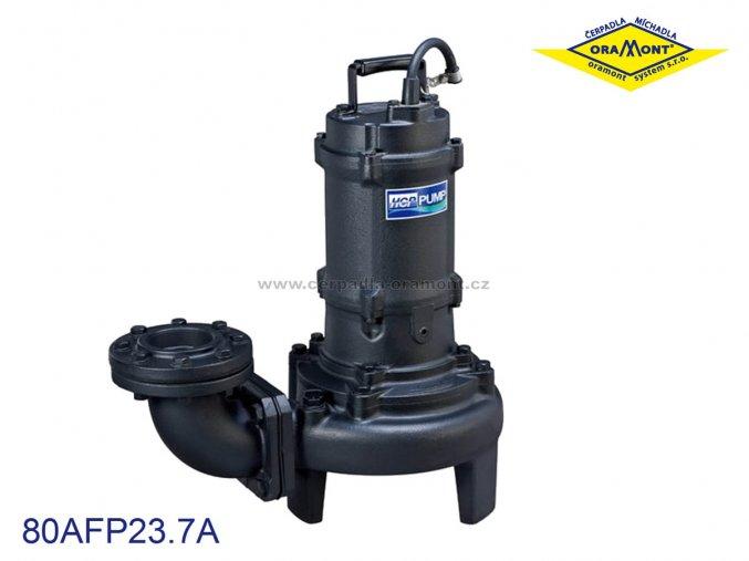 Těžké kalové čerpadlo na surové kaly HCP 80AFP43.7 WD 3,7kW 400V