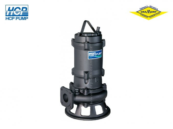 Těžké kalové čerpadlo na surové kaly HCP 80AFP27.5 WD 7,5kW 400V