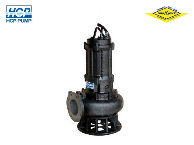 Těžké kalové čerpadlo na surové kaly HCP AF-615 WD 11kW 400V