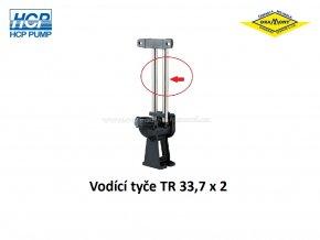 Vodící tyče pro spouštěcí zařízení HCP TR 33,7 x 2