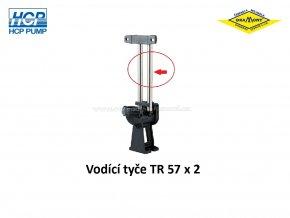 Vodící tyče pro spouštěcí zařízení HCP TR 57 x 2