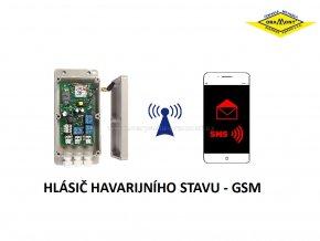 Hlášení havarijního stavu pro mobilní telefony - GSM