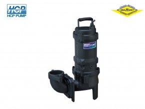Těžké kalové čerpadlo na surové kaly HCP 50AFU20.4LF 0,4kW 230V s plovákem