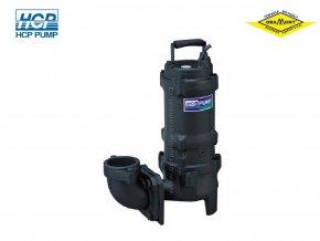 Těžké kalové čerpadlo na surové kaly HCP 80AFU21.5 WD 1,5kW 400V