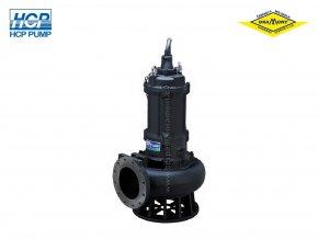 Těžké kalové čerpadlo na surové kaly HCP AF-820 WD 15kW 400V
