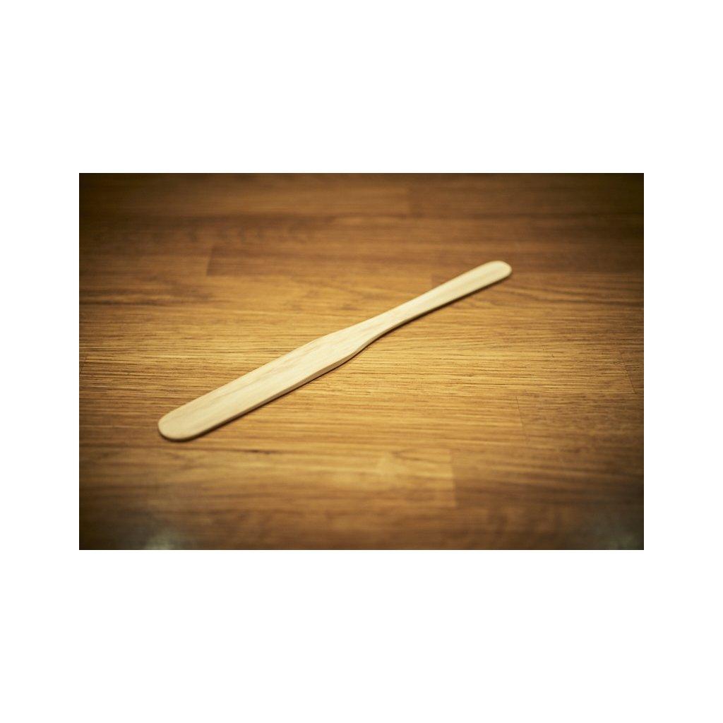 Hario bambusové míchátko k přípravě filtrované kávy v Chemexu, V60, French Pressu nebo Aeropressu