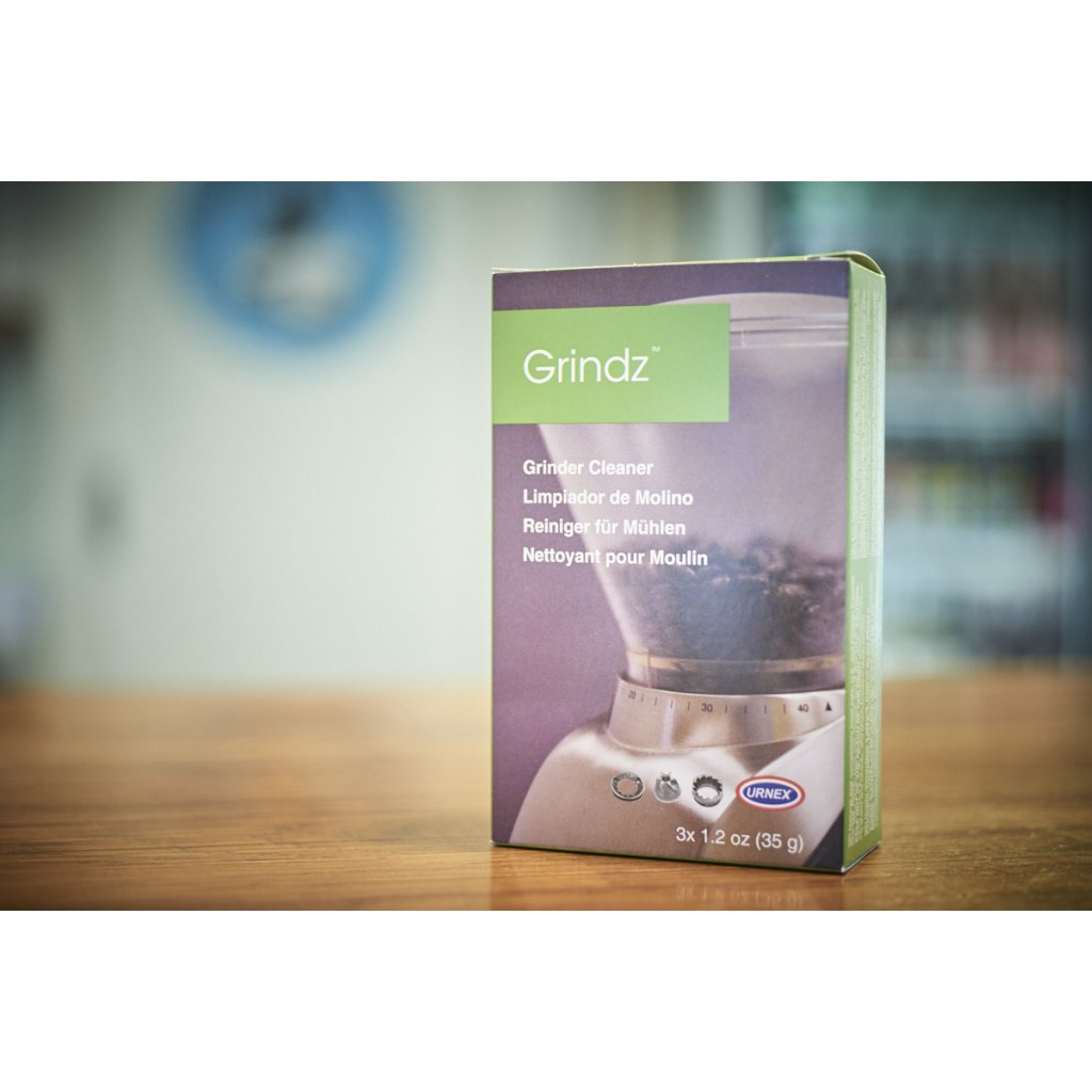 Urnex Grindz granulát na čištění mlýnků (3x 35 g)