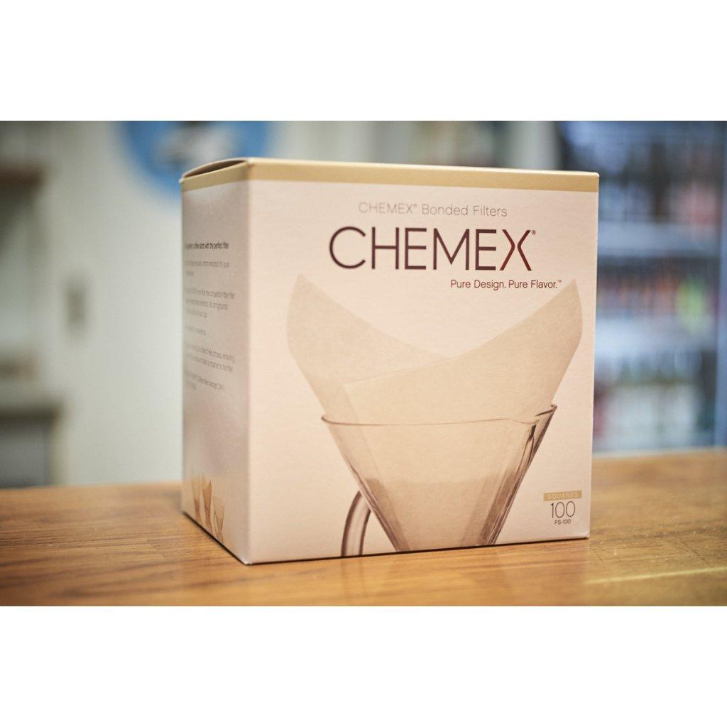 Papírové filtry na kávu pro Chemex CM-6A (100 ks)