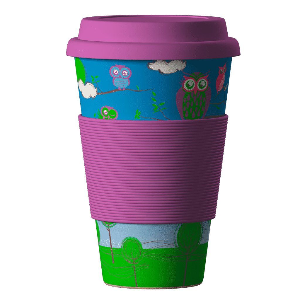 Bamboo Cup Owl