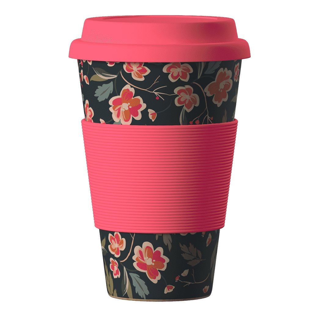 Bamboo Cup Japanes Cherry