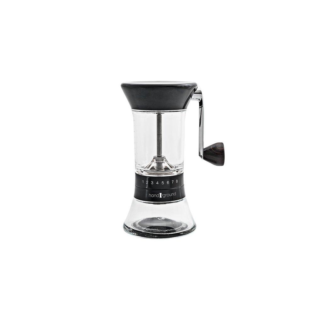 Handground ruční kávomlýnek s vertikální kličkou