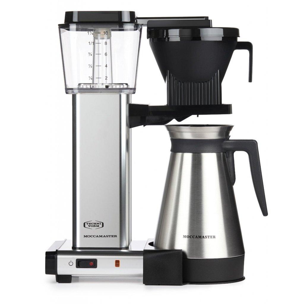 Technivorm Moccamaster KBGT-741 - domácí překapávač certifikovaný SCAA a SCAE pro přípravu filtrované kávy doma i v kanceláři