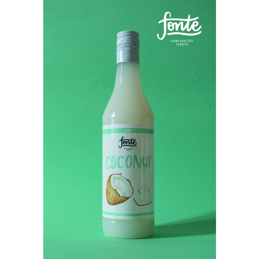 Fonte Coconut Syrup 750ml
