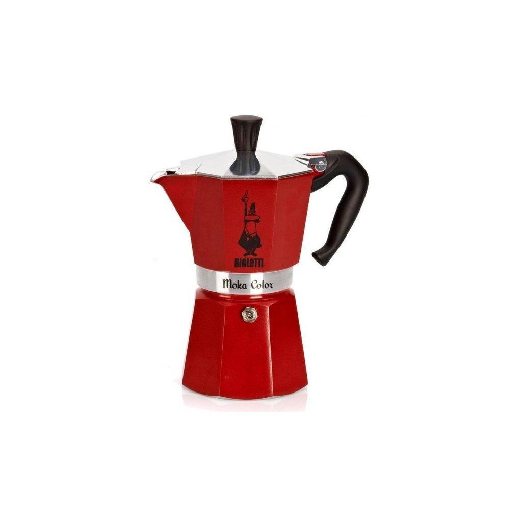 3455 bialetti moka express kavovar moka konvicka cervena objem 3 salky (1)