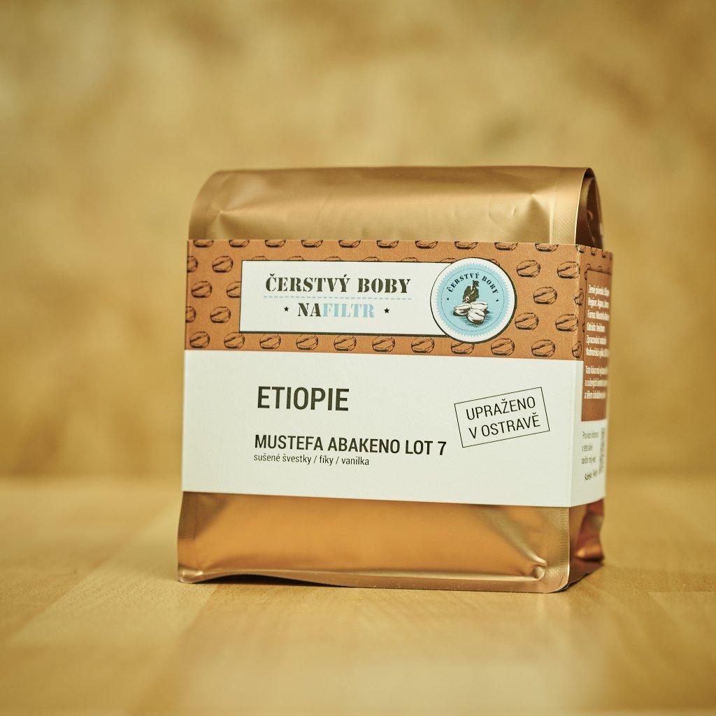 Zrnková káva MUSTEFA ABAKENO LOT 7 (Etiopie)