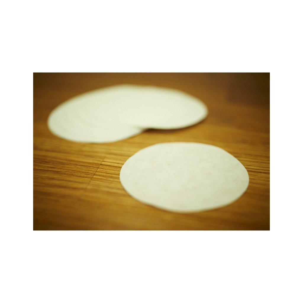 Papírové filtry na kávu pro Aeropress