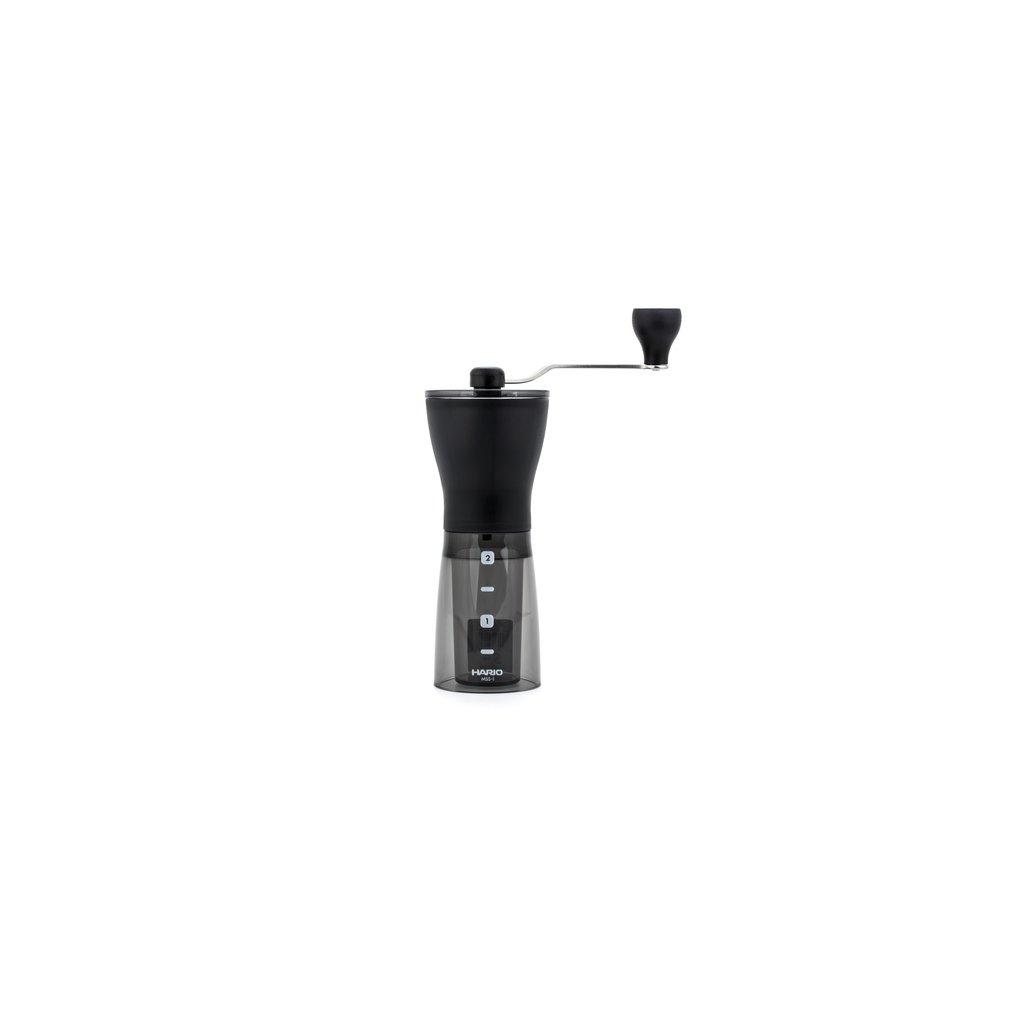 Hario Mini Mill Slim Plus ruční mlýnek na kávu MSS-1DTB