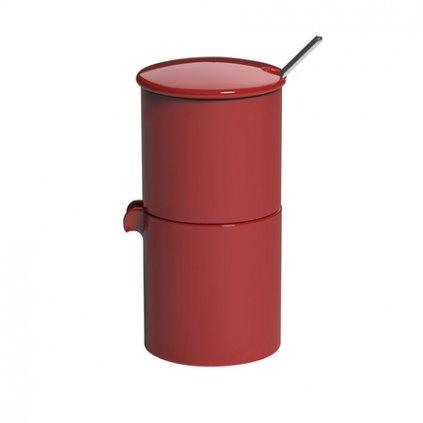 loveramics bond sugar creamer red