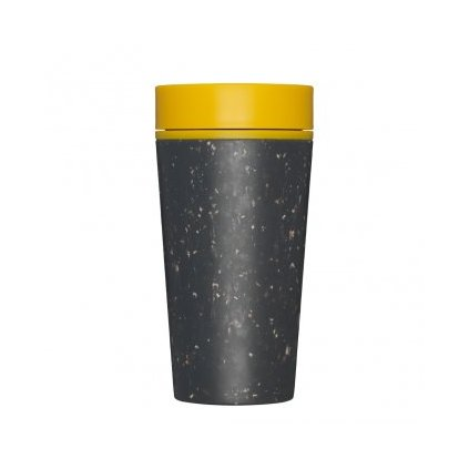 Kelímek rCUP Black and Mustard
