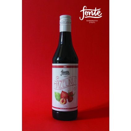 Fonte Hazelnut Syrup 750ml