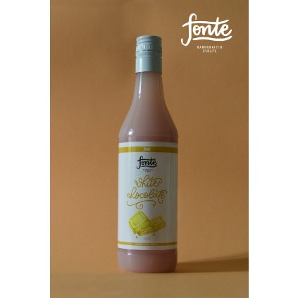Fonte White Chocolate Syrup 750ml