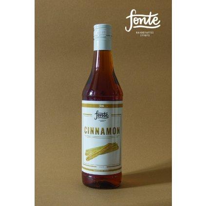 Fonte Cinnamon Syrup 750ml