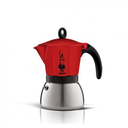 Bialetti New Moka Induction červená