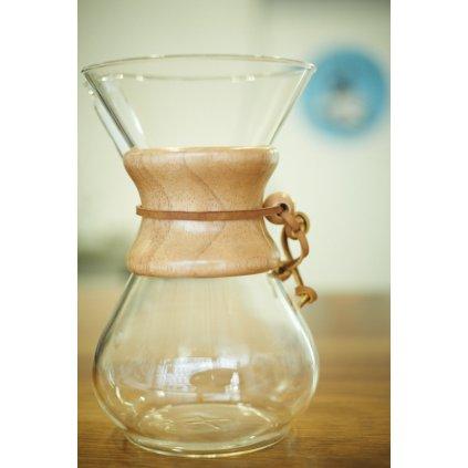 Dripper Chemex CM-6A pro přípravu ručně filtrované kávy