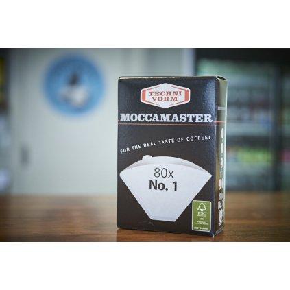 Technivorm Moccamaster - papírové filtry na kávu vel. 1 (80 ks)