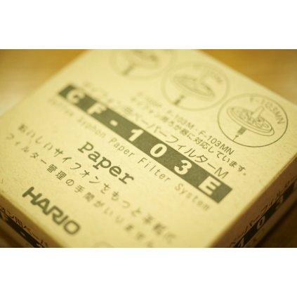 Papírové filtry na kávu Hario pro Vacuum pot