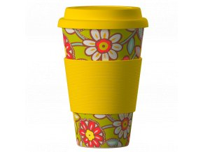 Bamboo Cup Daisies yellow