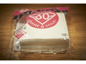Papírové filtry V60-02 bělené (100 ks)