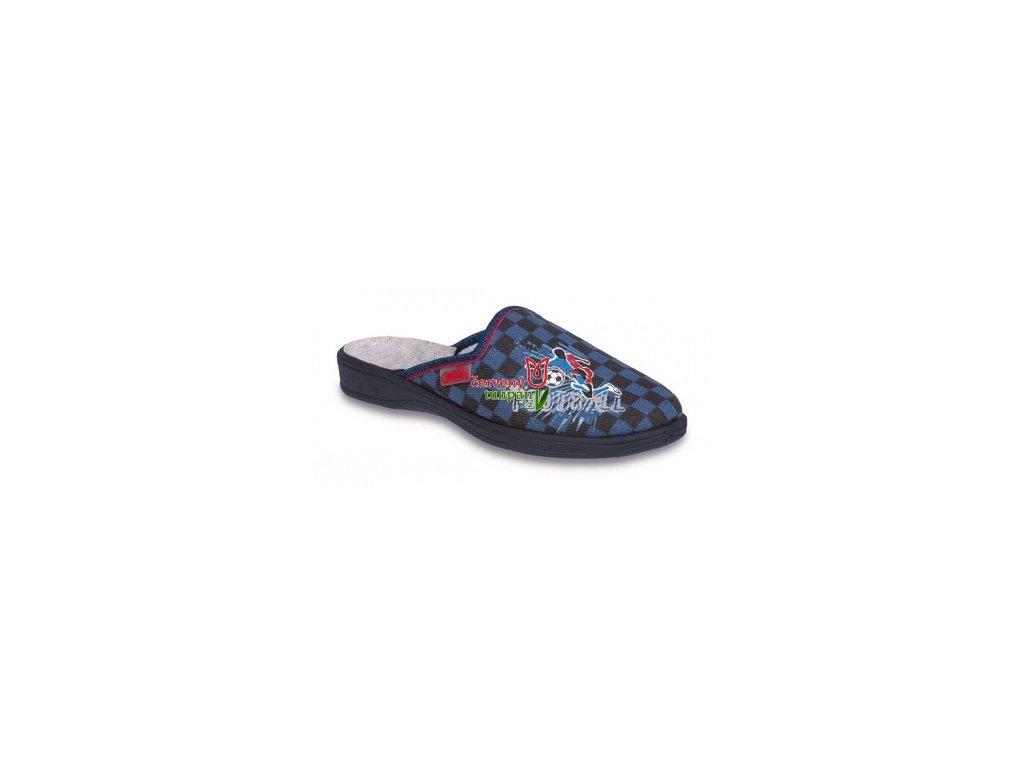 Pantofle Befado 707Y350 fotbal