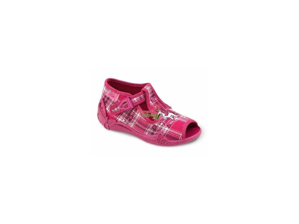 Bačkůrky / sandálky Befado 213P009 koník