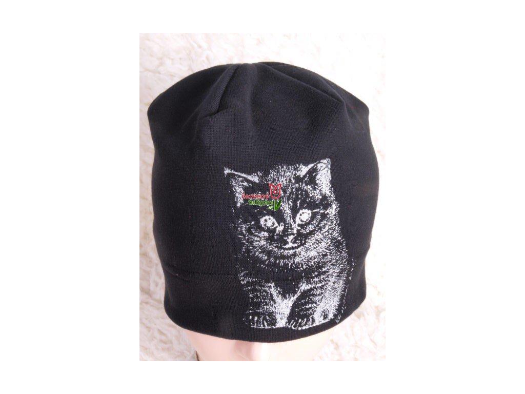 Čepice RDX 2017 černá - stříbrná kočka