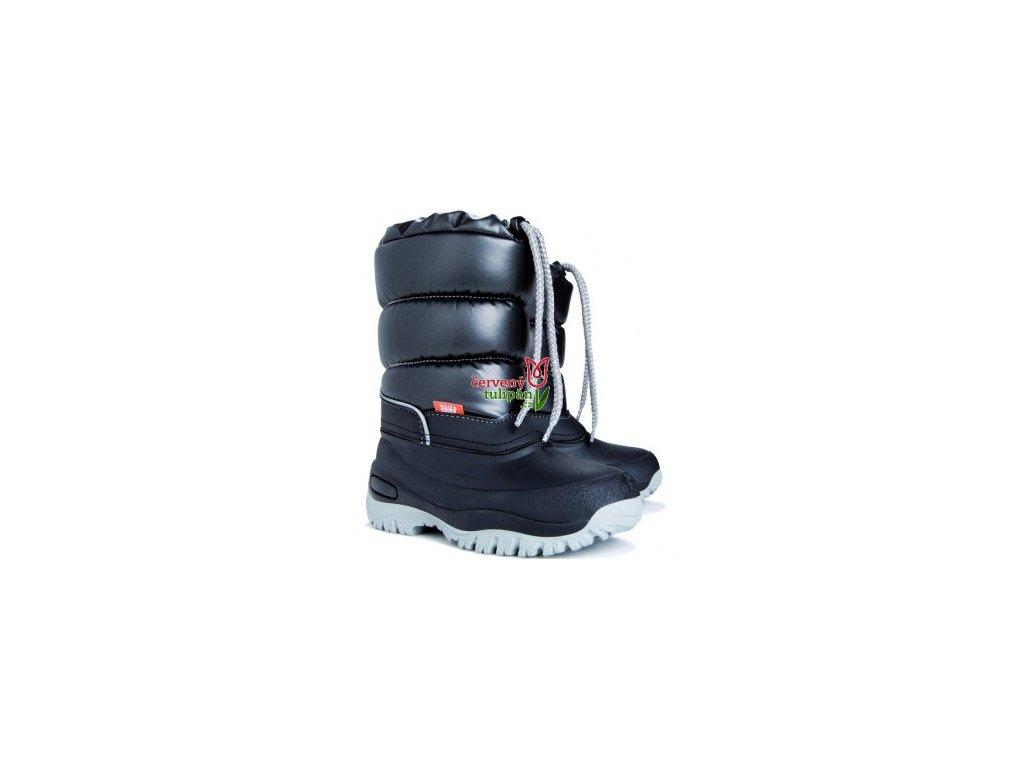 Mrazuvzdorné zimní boty / sněhule Demar Lucky B černé 109