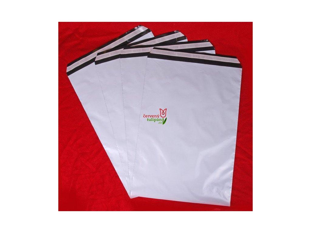Plastové poštovní obálky vel. XL (A3) 320x450 mm
