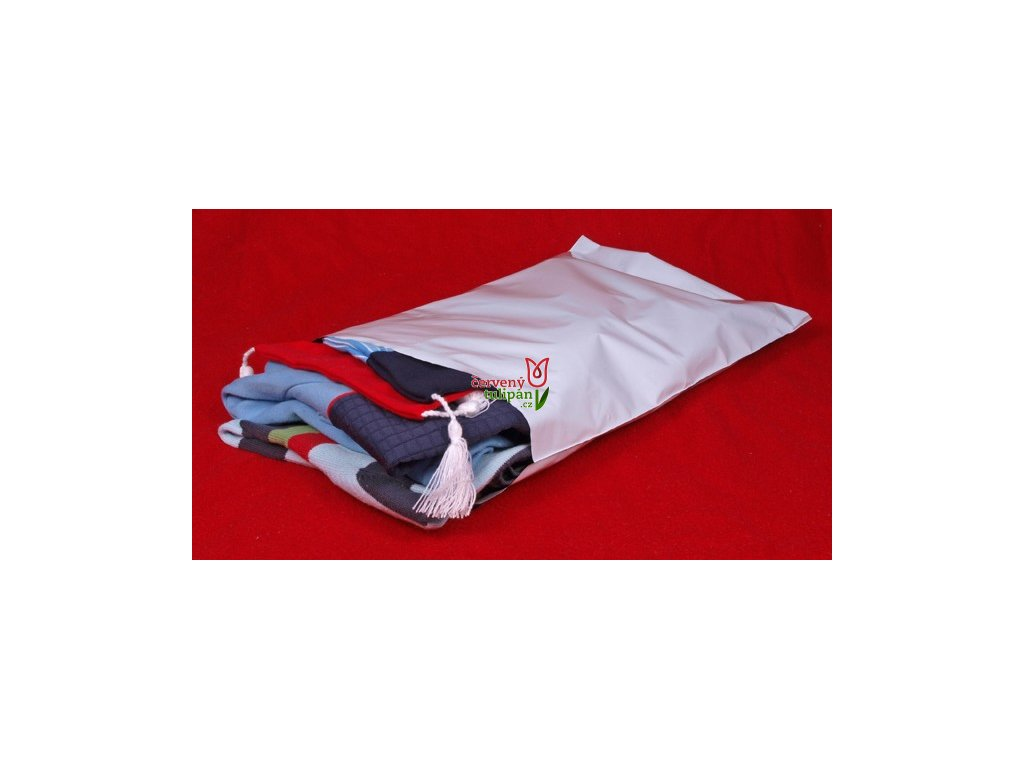 Plastové poštovní obálky vel. L (A4+) 250x350 mm