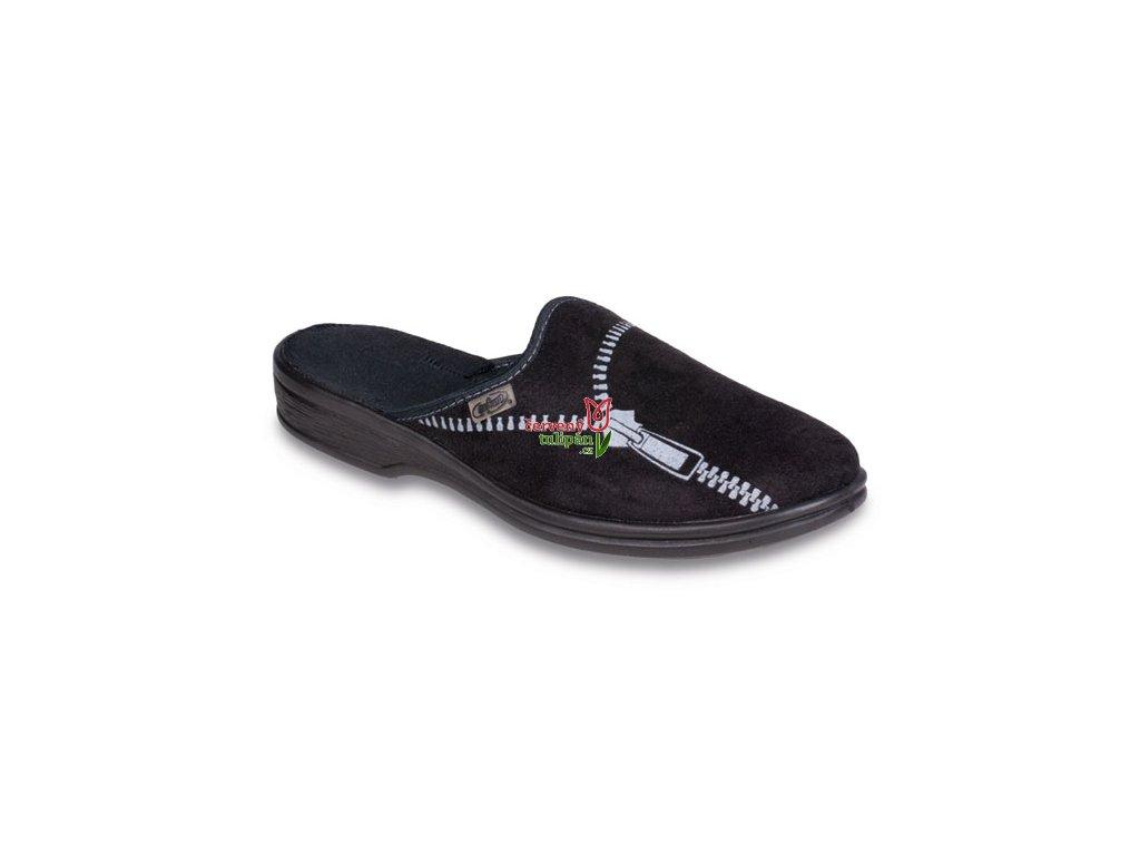 Pantofle bačkory papuče přezůvky pánské Befado 089M379 - Červený Tulipán d2403b9e66