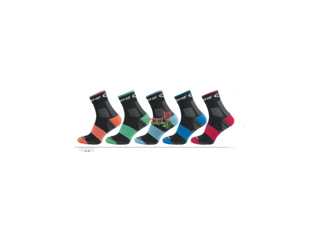 Termo ponožky Novia Silvertex Extreme 257N zelené - Červený Tulipán b5fc344e28