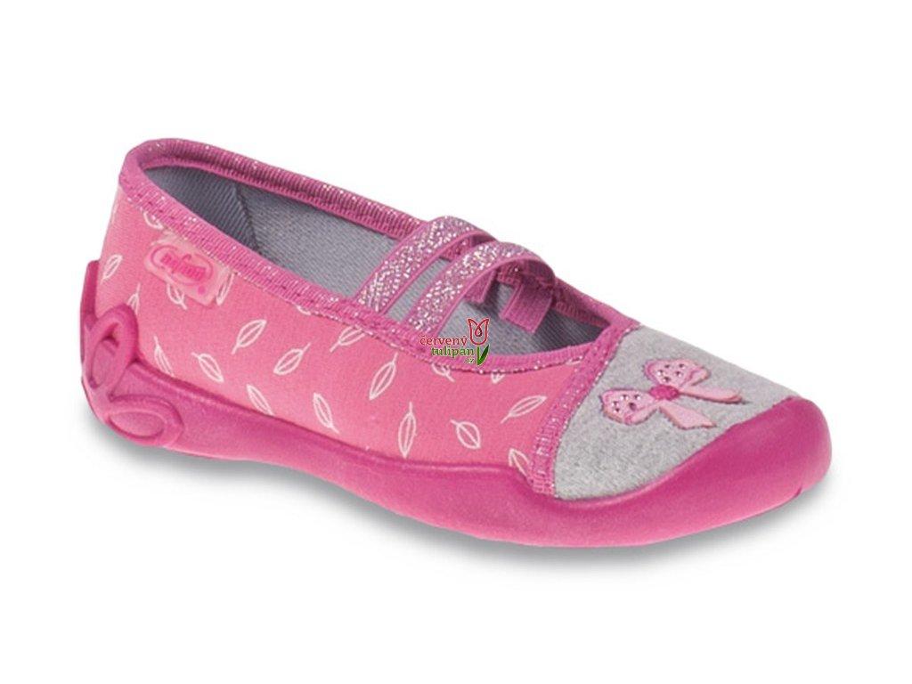 Bačkůrky balerínky papuče Befado Blanca 116X234 - Červený Tulipán 2fd274cd54