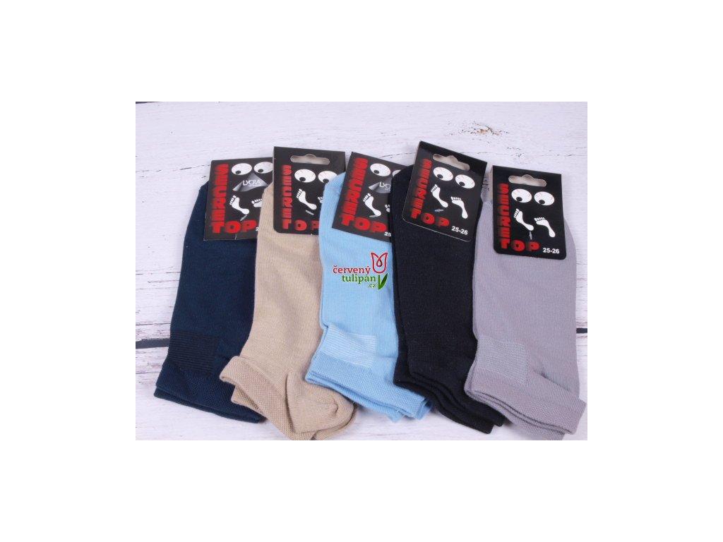 Ponožky Props Top Secret nízké kotníkové šedé - Červený Tulipán a8ca96ca39
