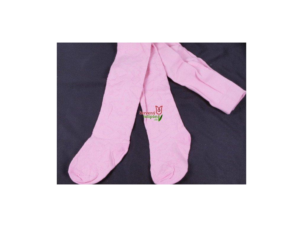 Punčocháče punčochy punčošky YO sv. růžové jednobarevné s jemným ... e3493da7c3