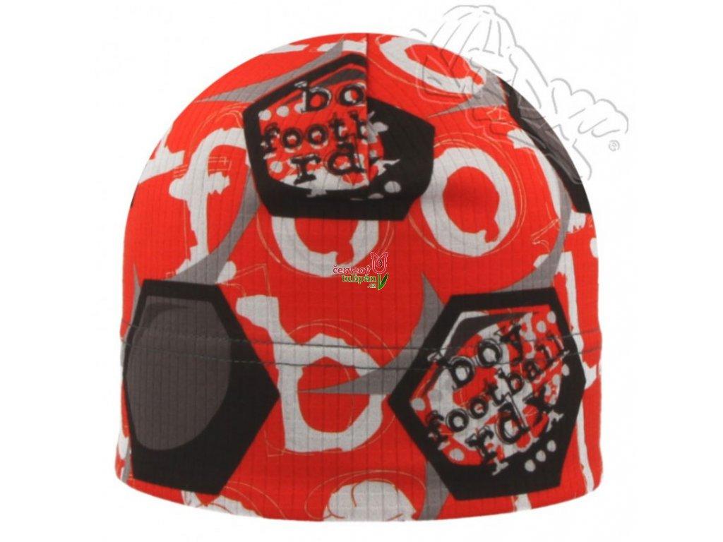 Funkční čepice RDX F474P fotbal červená - Červený Tulipán 92a2baf858