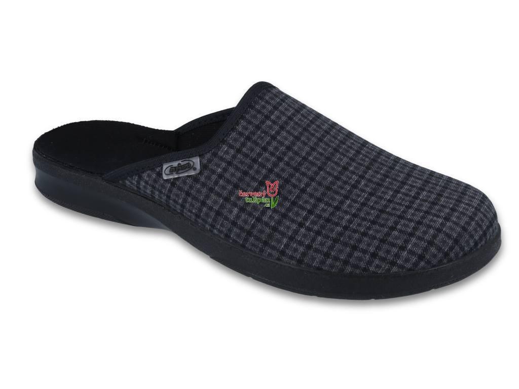 Pantofle bačkory papuče pánské Befado 548M012 - Červený Tulipán e9db213568
