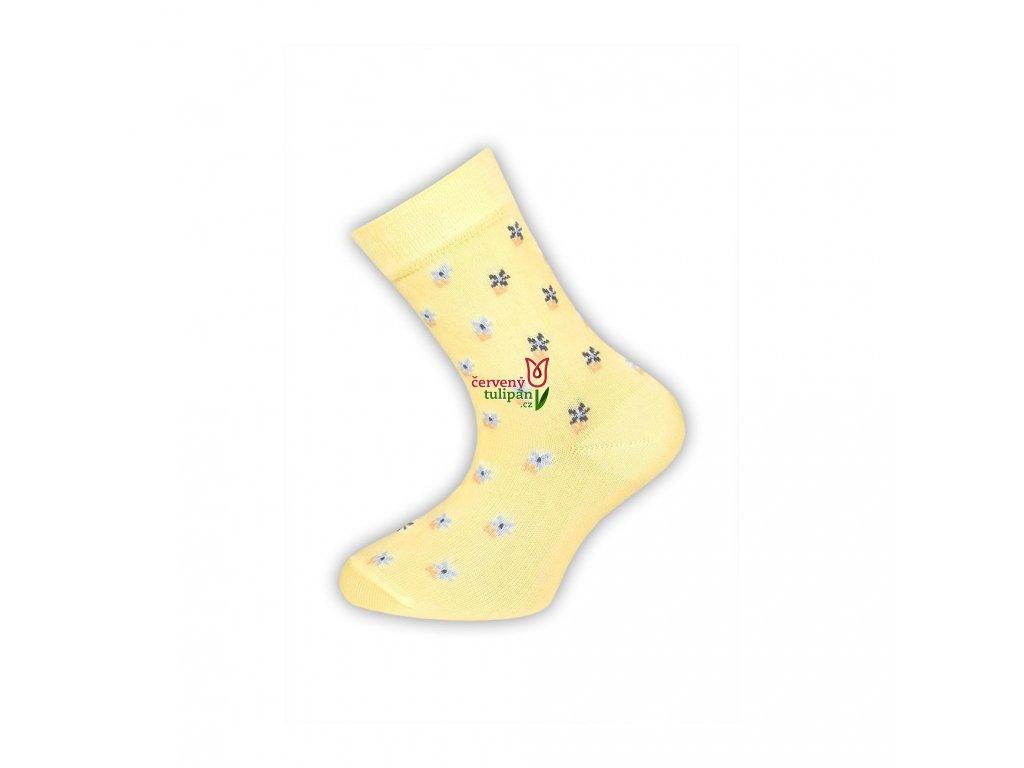 divci ponozky tazik zlute