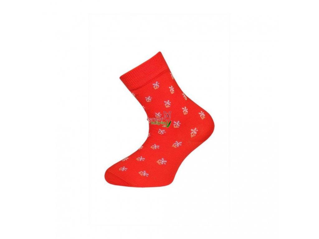 divci ponozky tazik cervene