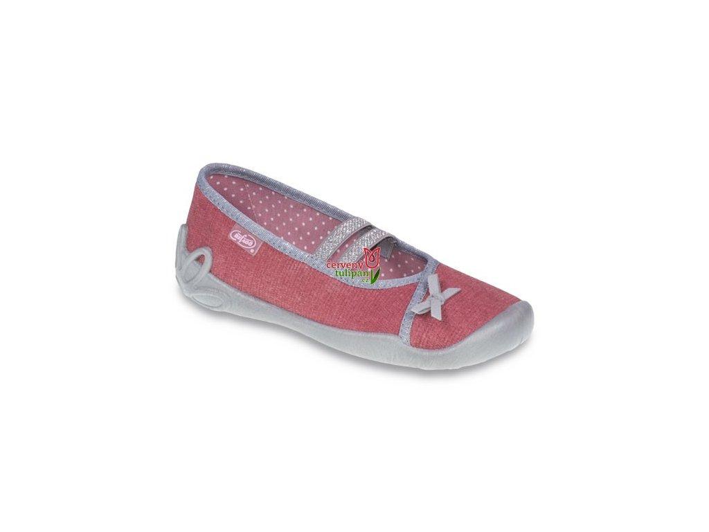 Bačkory papuče balerínky Befado Blanca 116Y198