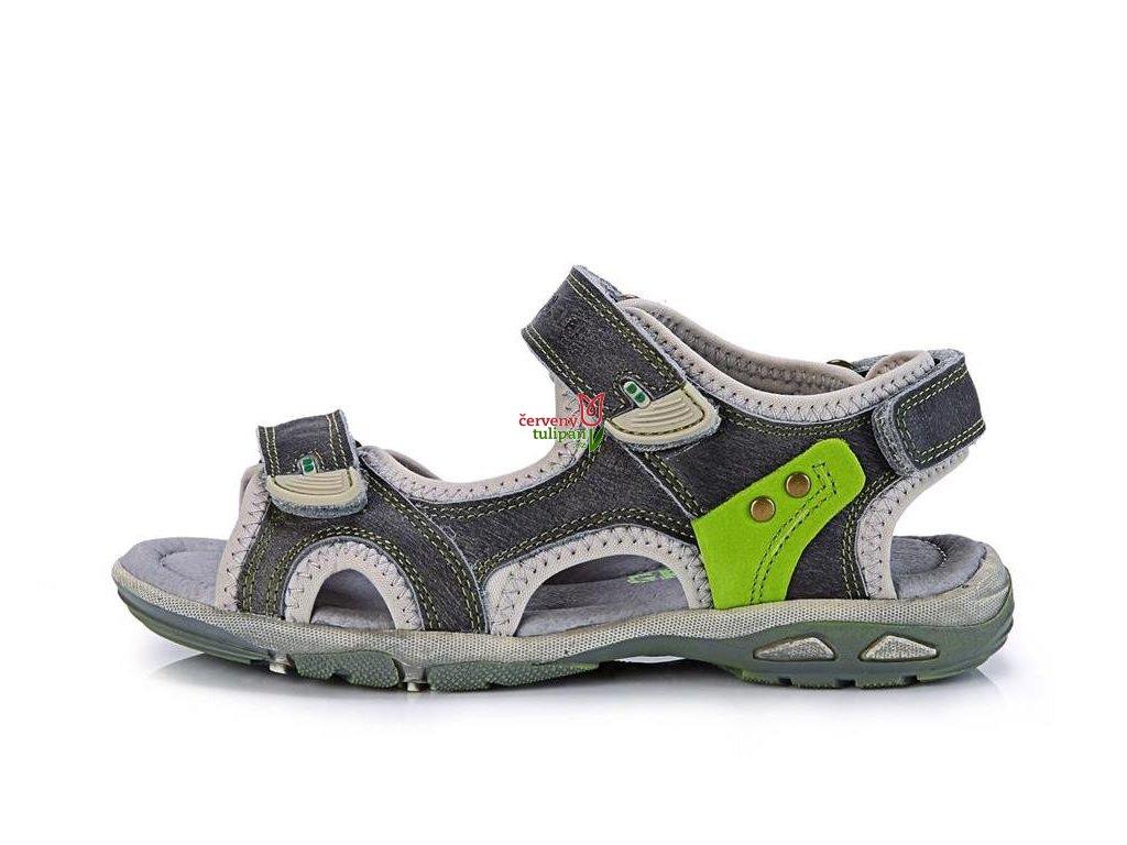 Sandálky D.D. step AC290-50AXL 3300 - Červený Tulipán 0f1d9647f2